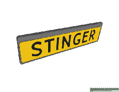 Stinger Side Laser Plate